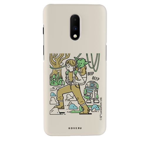 Luke And Yoda Cover Case For OnePlus 7