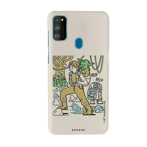 Luke And Yoda Cover Case For Samsung Galaxy M30S
