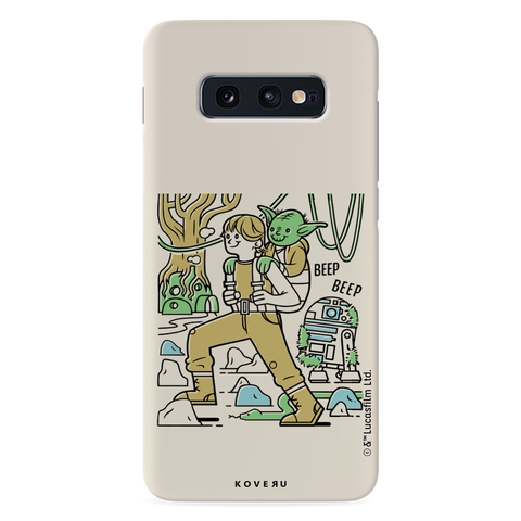 Luke And Yoda Cover Case For Samsung Galaxy S10E