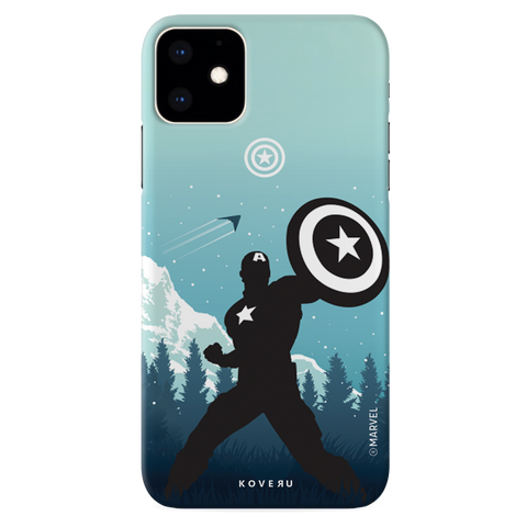Captain America Cover Case For iPhone 11