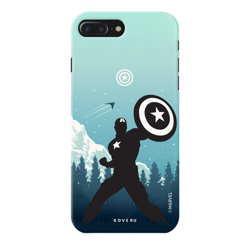 Captain America Cover Case For iPhone 7/8 Plus