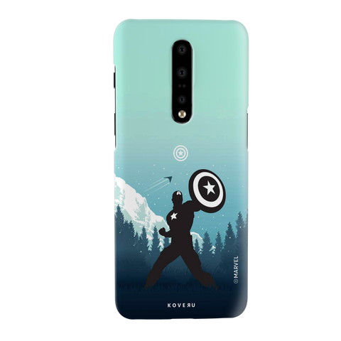 Captain America Cover Case For OnePlus 7 Pro