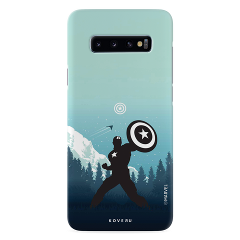 Captain America Cover Case For Samsung Galaxy S10