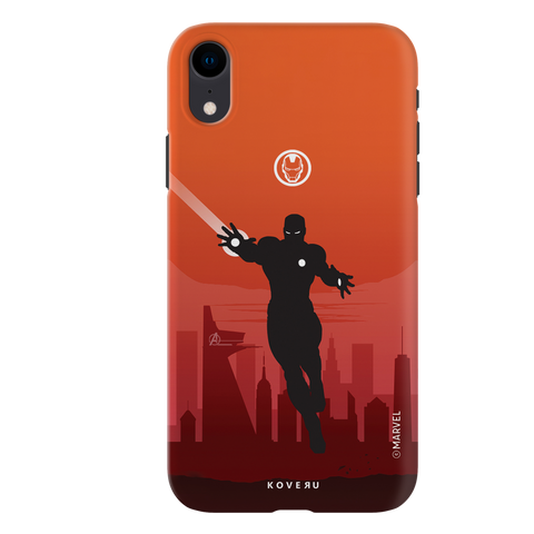 Iron Man Cover Case For iPhone XR