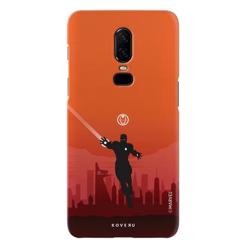 Iron Man Cover Case For OnePlus 6