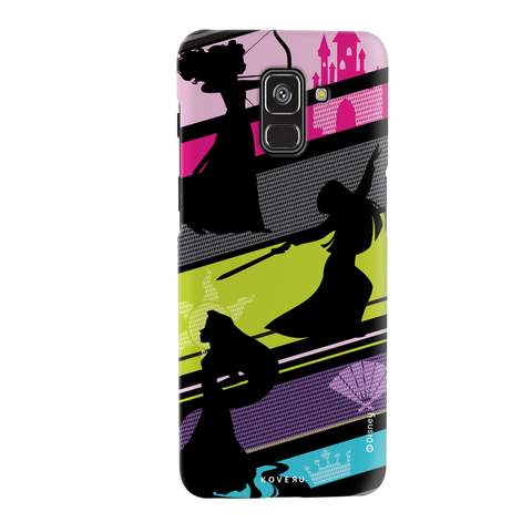 The Free - Spirited Princesses Cover Case For Samsung Galaxy A8 Plus