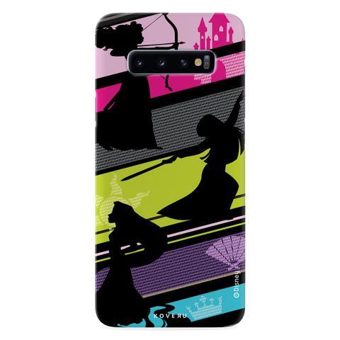 The Free - Spirited Princesses Cover Case For Samsung Galaxy S10