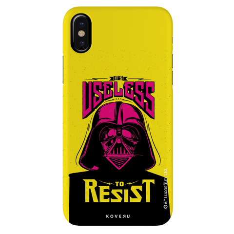 Useless To Resist Cover Case For iPhone X
