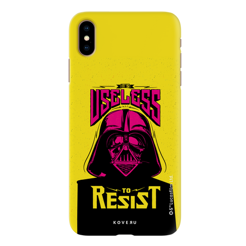 Useless To Resist Cover Case For iPhone XS Max