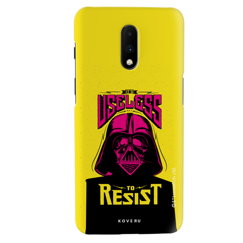Useless To Resist Cover Case For OnePlus 7