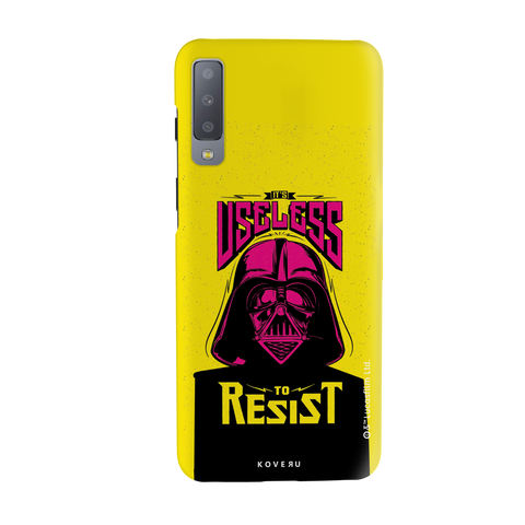 Useless To Resist Cover Case For Samsung Galaxy A7 2018