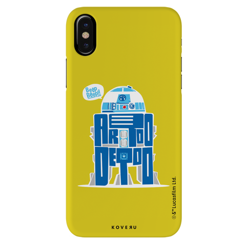 R2-D2 Cover Case For iPhone XS