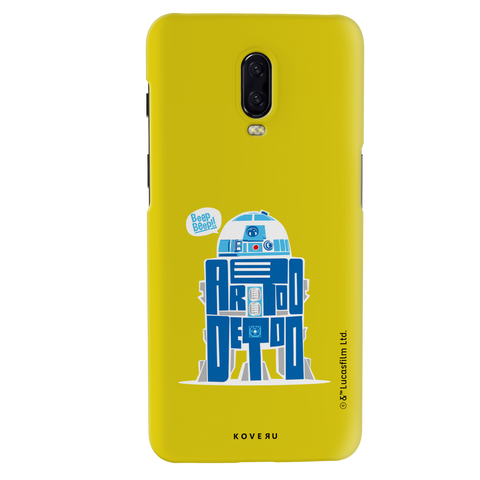 R2-D2 Cover Case For OnePlus 6T