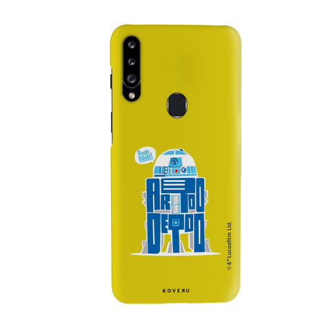 R2-D2 Cover Case For Samsung Galaxy A20S