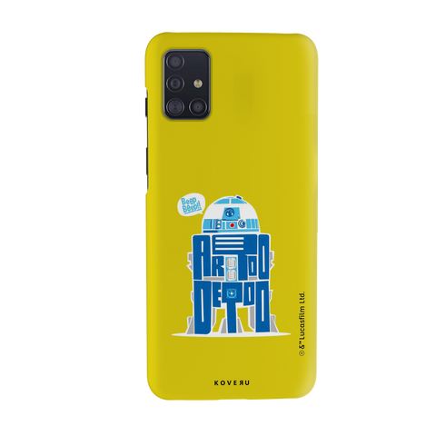 R2-D2 Cover Case For Samsung Galaxy A51
