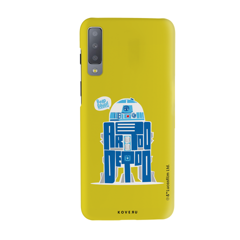R2-D2 Cover Case For Samsung Galaxy A7 2018