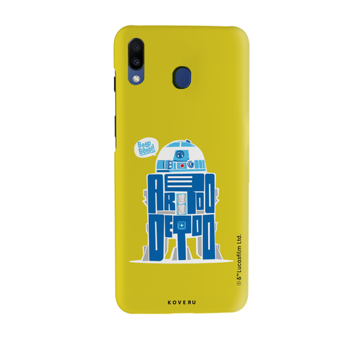 R2-D2 Cover Case For Samsung Galaxy M20