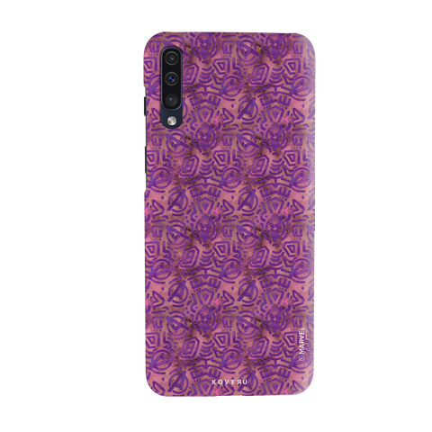 Avengers Emblem Pattern Purple Cover Case For Samsung Galaxy A50