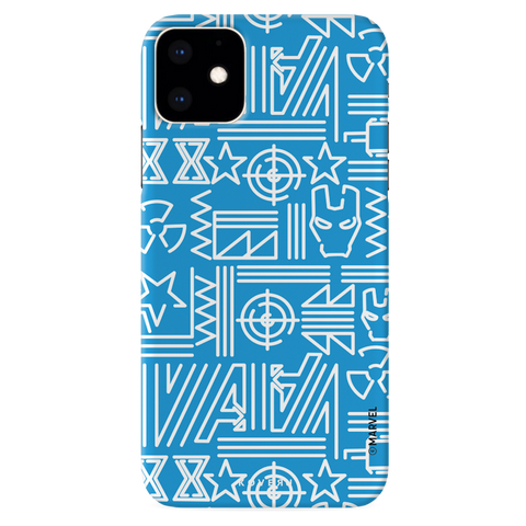 The Prime Avengers Blue Cover Case For iPhone 11