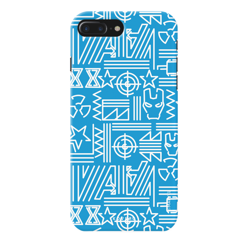The Prime Avengers Blue Cover Case For iPhone 7/8 Plus