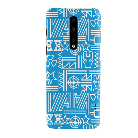 The Prime Avengers Blue Cover Case For OnePlus 7 Pro