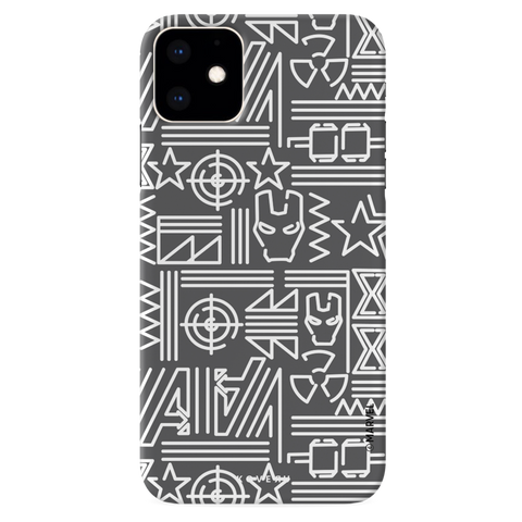 The Prime Avengers Grey Cover Case For iPhone 11