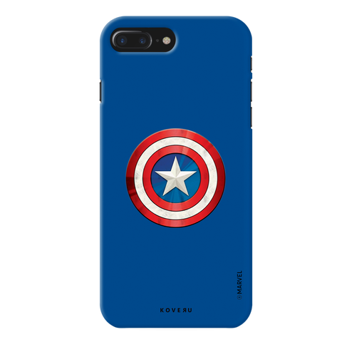 Captain Americas Shield Cover Case For iPhone 7/8 Plus