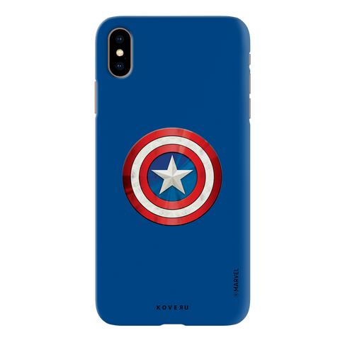 Captain Americas Shield Cover Case For iPhone XS Max