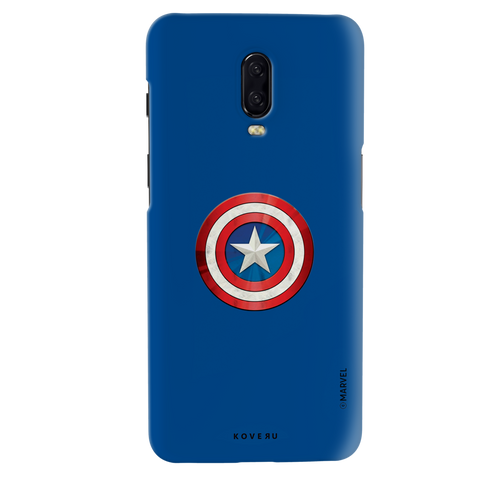 Captain Americas Shield Cover Case For OnePlus 6T