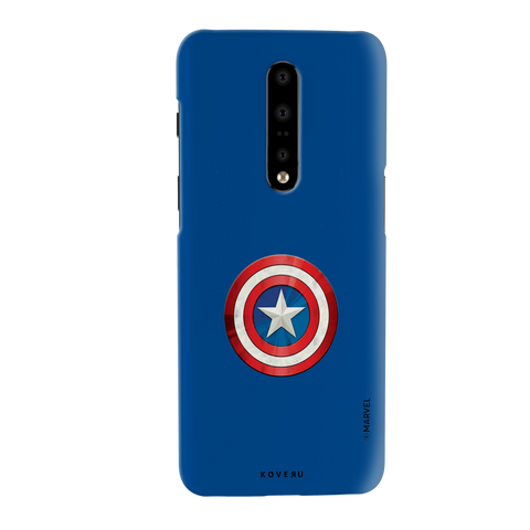 Captain Americas Shield Cover Case For OnePlus 7 Pro