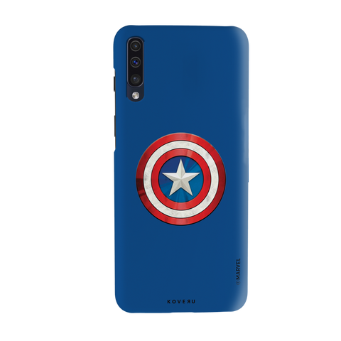 Captain Americas Shield Cover Case For Samsung Galaxy A50