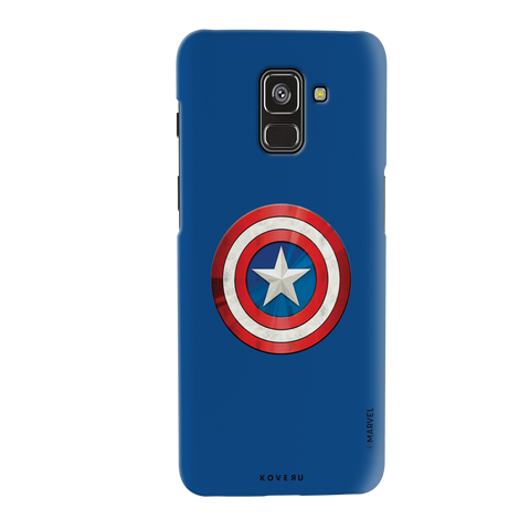 Captain Americas Shield Cover Case For Samsung Galaxy A8 Plus