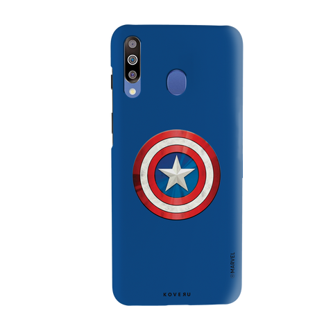 Captain Americas Shield Cover Case For Samsung Galaxy M30