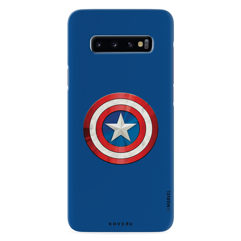 Captain Americas Shield Cover Case For Samsung Galaxy S10
