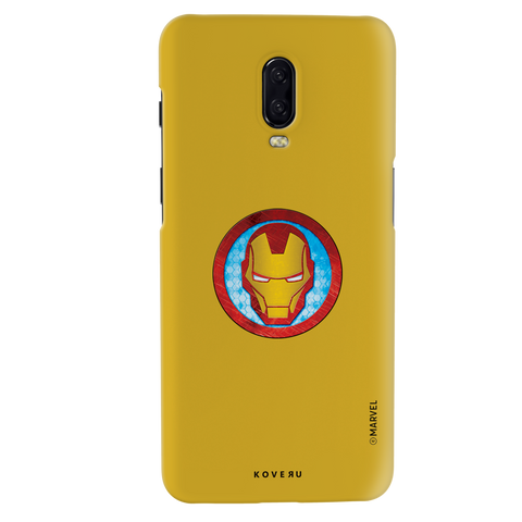 Iron Mans Mask Cover Case For OnePlus 6T