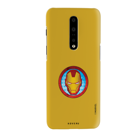 Iron Mans Mask Cover Case For OnePlus 7 Pro