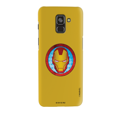 Iron Mans Mask Cover Case For Samsung Galaxy A8 Plus