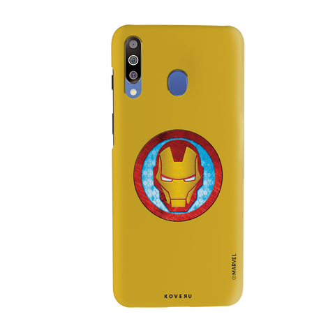 Iron Mans Mask Cover Case For Samsung Galaxy M30
