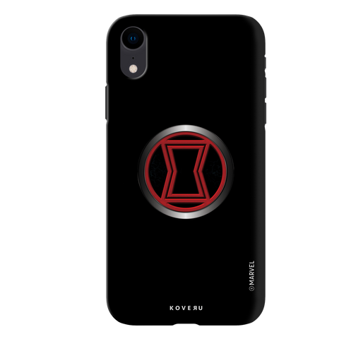 Black Widows Emblem Cover Case For iPhone XR