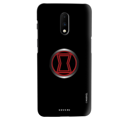 Black Widows Emblem Cover Case For OnePlus 7