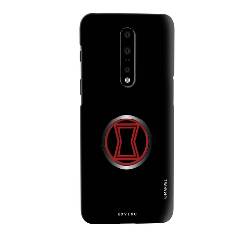 Black Widows Emblem Cover Case For OnePlus 7 Pro