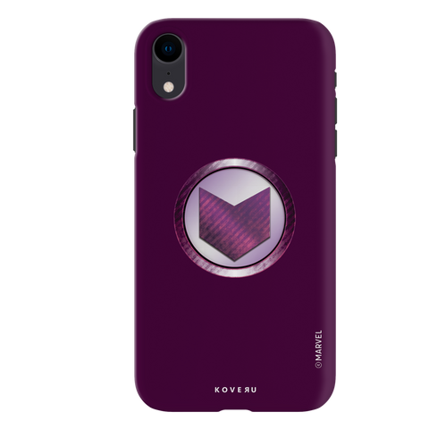 Hawkeyes Emblem Cover Case For iPhone XR