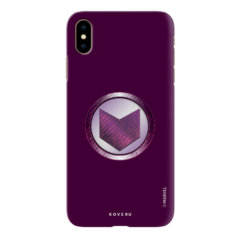 Hawkeyes Emblem Cover Case For iPhone XS Max
