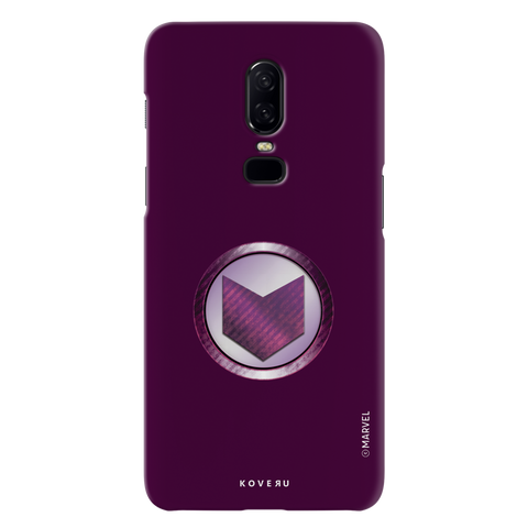 Hawkeyes Emblem Cover Case For OnePlus 6