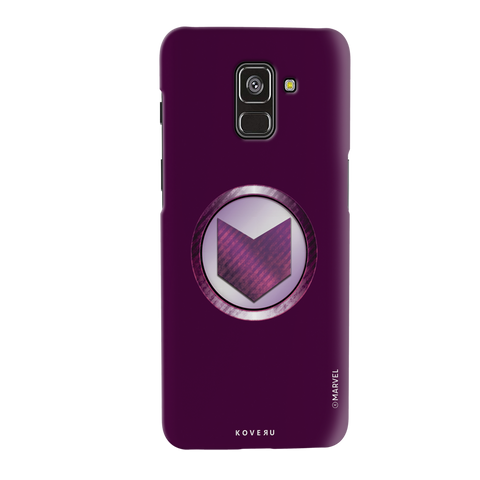 Hawkeyes Emblem Cover Case For Samsung Galaxy A8 Plus