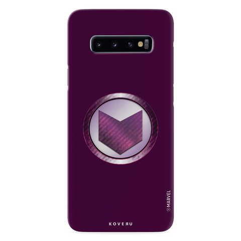 Hawkeyes Emblem Cover Case For Samsung Galaxy S10