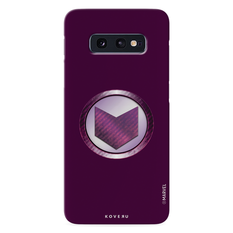 Hawkeyes Emblem Cover Case For Samsung Galaxy S10E
