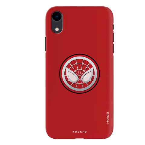 Spidermans Emblem Cover Case For iPhone XR