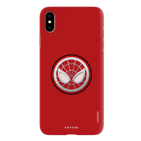 Spidermans Emblem Cover Case For iPhone XS Max