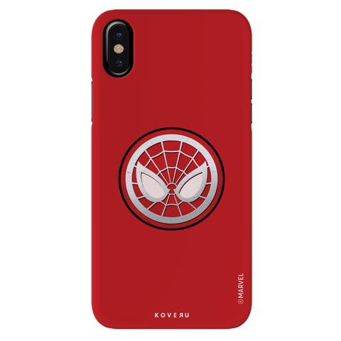Spidermans Emblem Cover Case For iPhone XS